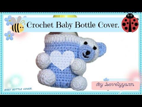 Crochet Baby  Bottle Cover
