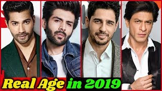 Real Age of Bollywood Actors in 2019