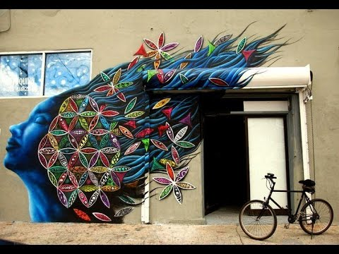 Fantastic 3D Wall Painting Art Incredible Illusions Compilation