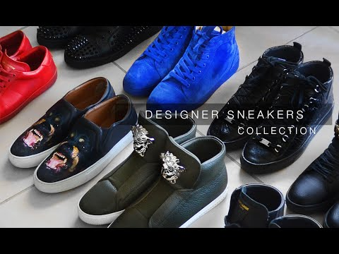MY DESIGNER SNEAKER COLLECTION | Louboutin, Saint Laurent, G
