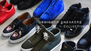 my designer sneaker collection   louboutin saint laurent givenchy more