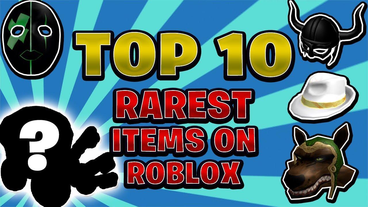 Top 10 Rarest Roblox Items Ever Linkmon99 Roblox Youtube