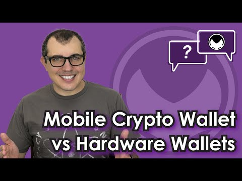 The Tears Test: Mobile Cryptocurrency Wallets vs Hardware Wallets