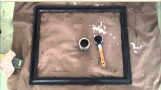 How to create a picture frame for stretched canvas?