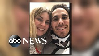 IndyCar driver who survived fiery crash hopes to walk at his wedding