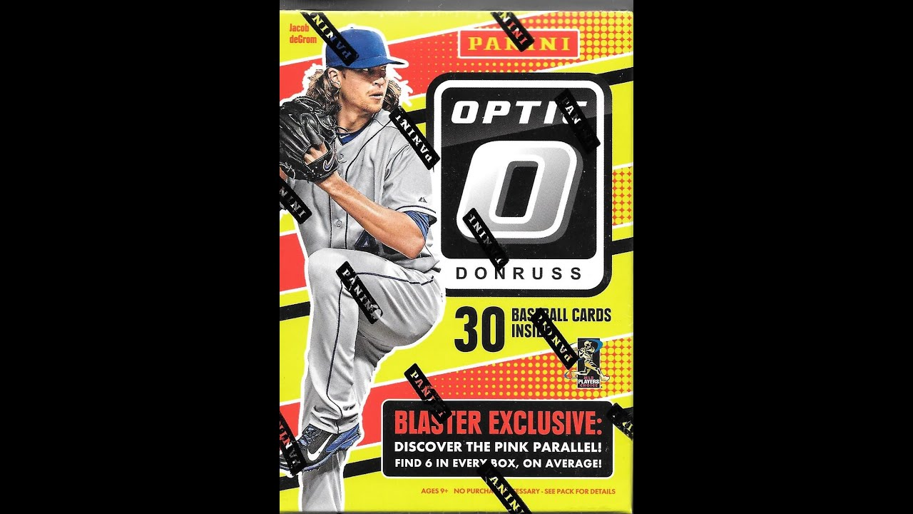 2016 Panini Donruss Optic Baseball Retail Blaster Box 2 Hobby Packs Break