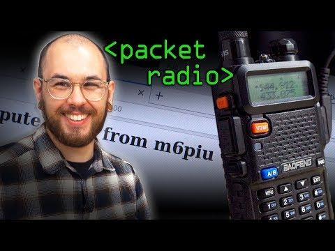 Packet Radio (Post Apocalyptic Internet?) - Computerphile
