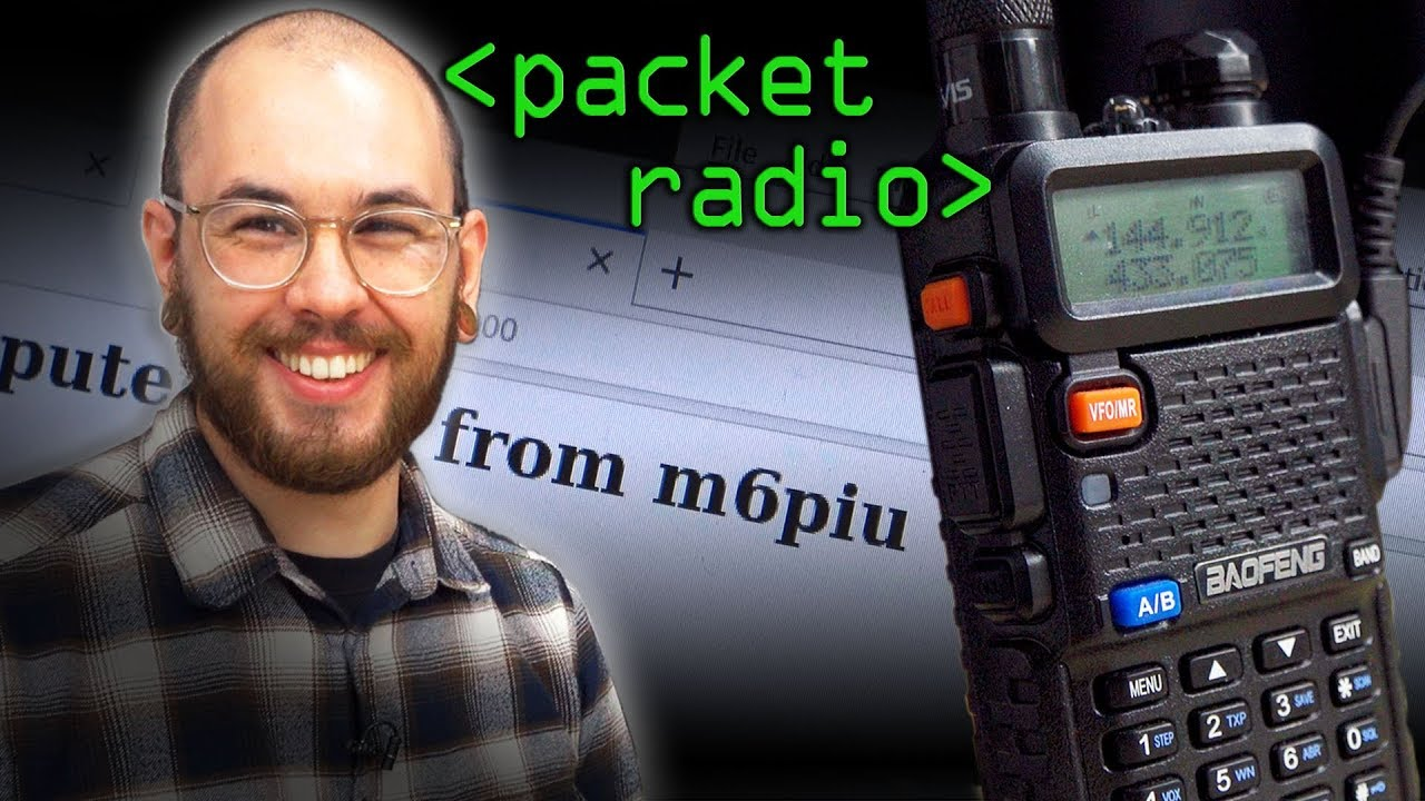 Packet Radio (Post Apocalyptic Internet?) - Computerphile