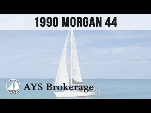 Brokerage 1990 Morgan 44 by Annapolis Yacht Sales