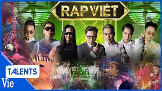 TỔNG HỢP TẤT CẢ PHẦN TRÌNH DIỄN ẤN TƯỢNG TẠI RAP VIỆT 2020   Rap Việt Best Collection