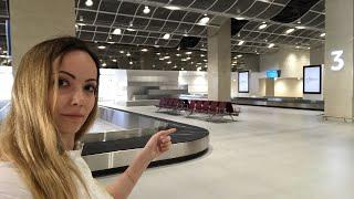 Онлайн! Открытие аэропорта в Симферополе. Ноу хау и первый пассажир. Крым 2018