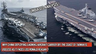 3 REASONS CHINESE LIAONING WILL NOT LAST AN HOUR AGAINST USS RONALD REAGAN PROTECTING JAPAN !