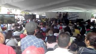 Jornada contra la Imposición de Peña Nieto, DF 5 agosto 2012, Monumento a la Revolución.