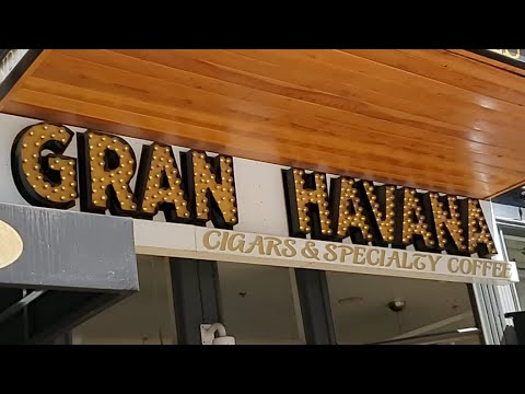 GRAN HAVANA CIGAR LOUNGE || All HAND Rolled Onsite || BEST CIGARS ON THE WEST COAST