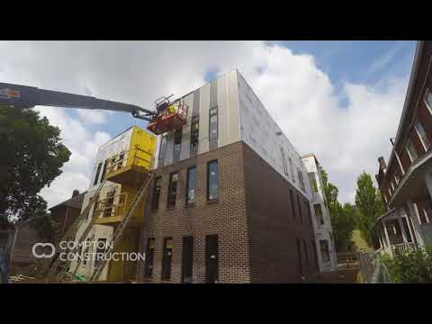 The Concord - New Condo Building Construction - Start to Finish Time Lapse