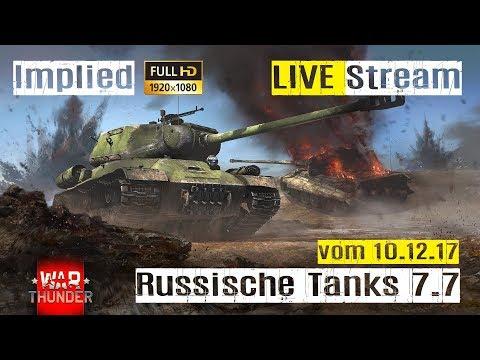 War Thunder LIVE Stream GF Deutsche Panzer auf 5.7 im RB GAMEPLAY mit Implied