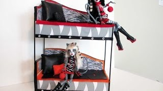 How To Make A Werecat Twins Bunk Bed Tutorial/ Monster High