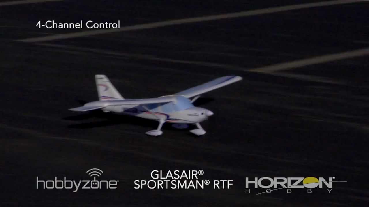 HobbyZone Glasair Sportsman RTF Electric Airplane w/2 4GHz Radio System