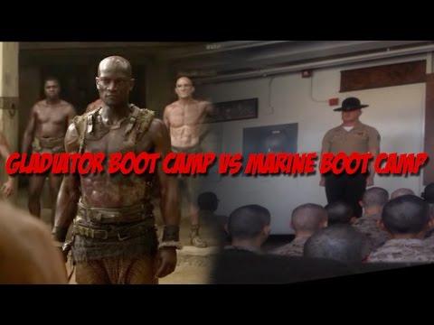 Marine Corps Boot Camp vs Gladiator Training