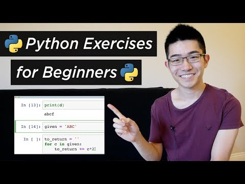 6 Python Exercise Problems for Beginners - from CodingBat (Python Tutorial #14)