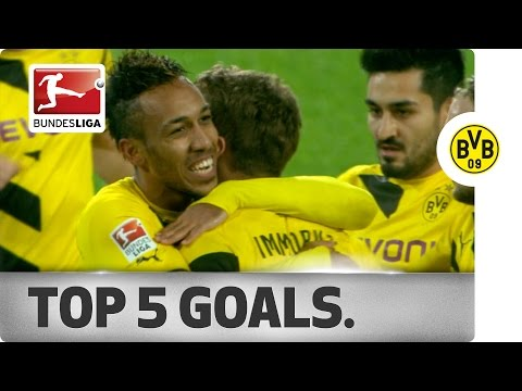 Top 5 Goals - Pierre-Emerick Aubameyang - 2014/15