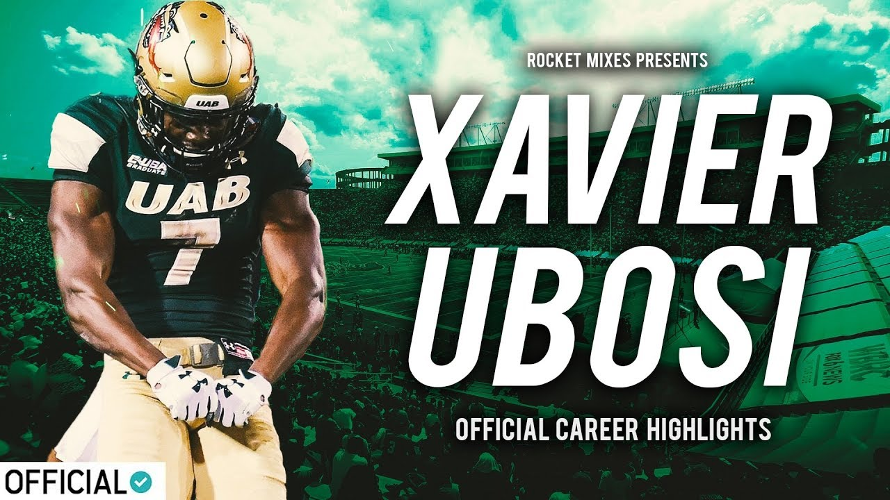 huge selection of 0eff3 2b461 Patriots Sign Rookie Free Agent Wideout Xavier Ubosi