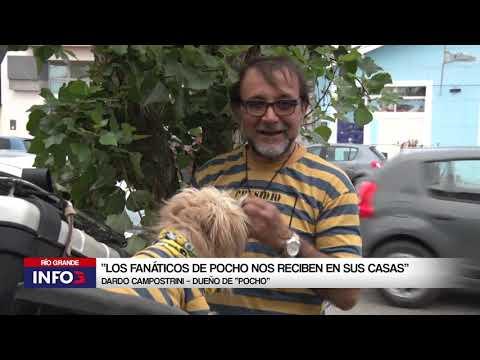 Murió Pocho, el perro motoquero