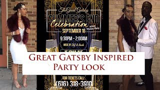 Party Look | 1920s Great Gatsby Inspired OOTN
