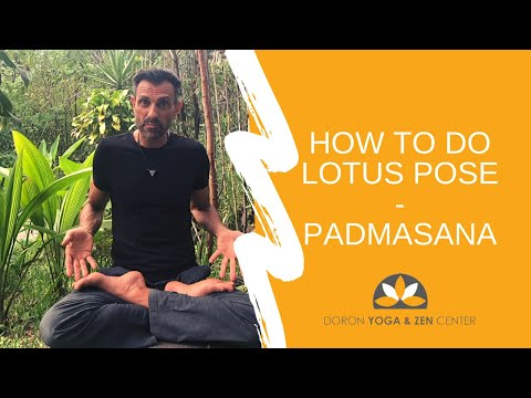 How To Do Lotus Pose, Padmasana in Yoga