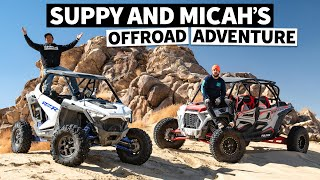 homepage tile video photo for The New Polaris RZR Pro XP Rips! Can We Keep up With Pro Rock Crawlers in it?