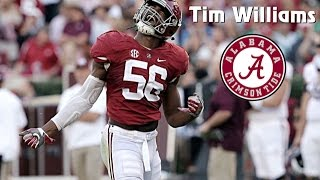 Tim Williams || Alabama Career Highlights || 2013 - 2017