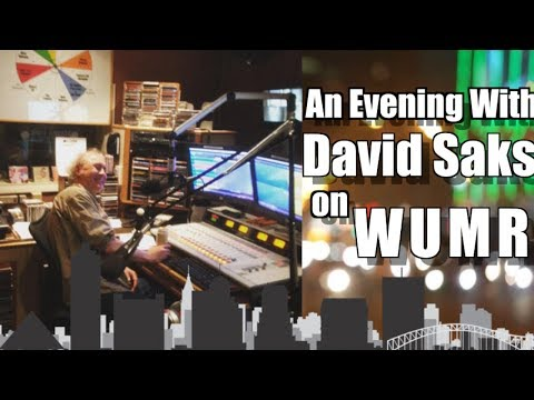 Live From Memphis: An Evening With David Saks at WUMR Radio