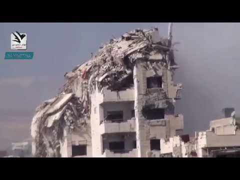Syria   Building Collapse In Damascus