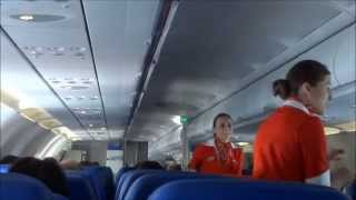 Aeroflot flight Moscow - Rome