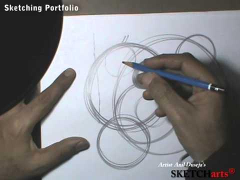 Sketching Tutorial lesson- 1,Sketcharts, Painting,NID,NIFT,PEARL,NATA,CEED,JEE B.ARCH,FINE ARTS