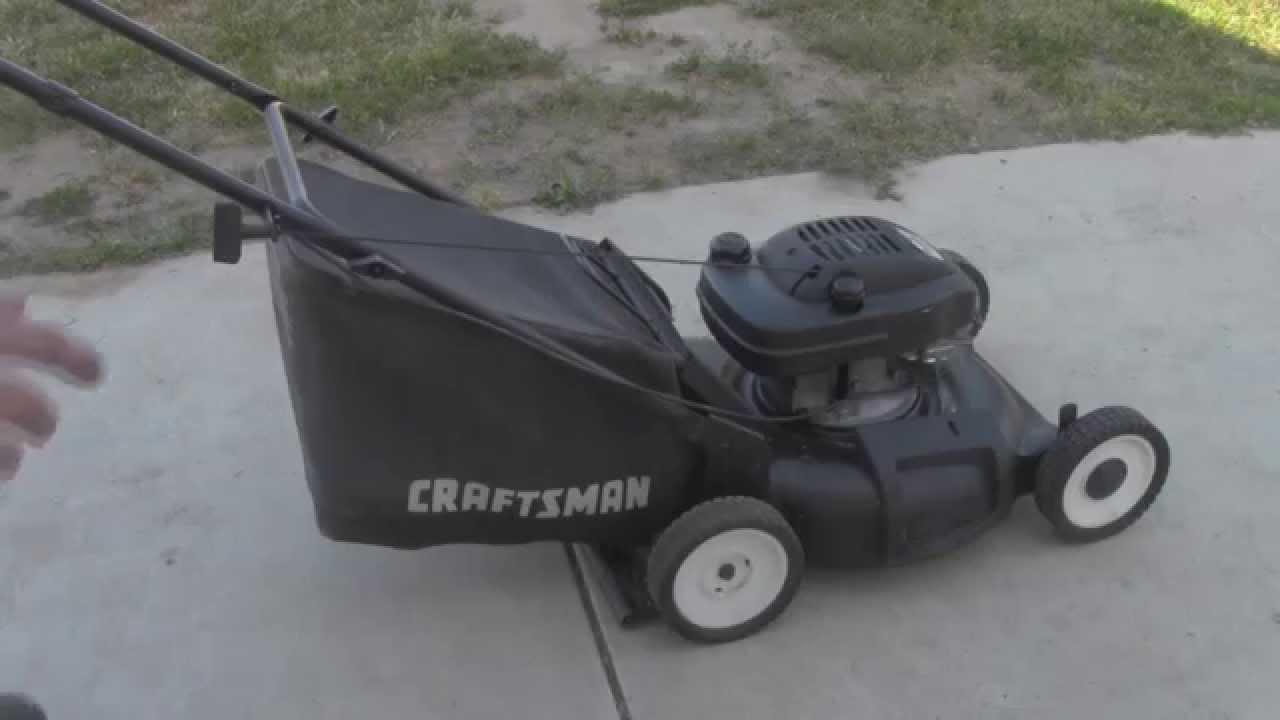 Craftsman 6 0hp Tecumseh 21 Quot Lawn Mower Youtube