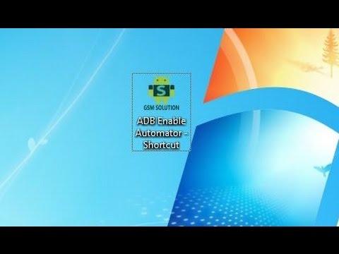 برنامج ممتاز لصنع ملفات adb enable لتفعيل usb debugging لحذف frp