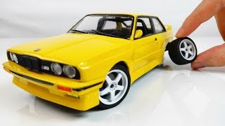 How to Build a Small BMW E30 M3 - Step by Step Fujimi Car Build