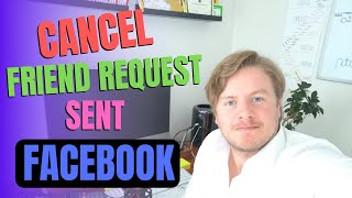 How To Cancel Friend Request Sent On Facebook