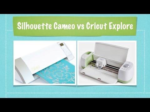 Silhouette Cameo VS Cricut Explore (An Unbiased Comparison and Overview)