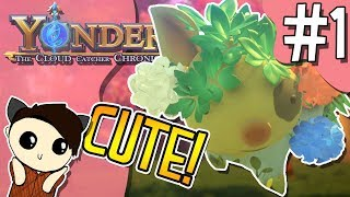 YONDER: THE CLOUD CATCHER CHRONICLES | Gameplay | Getting Started in Gemea [#1] PC/Steam