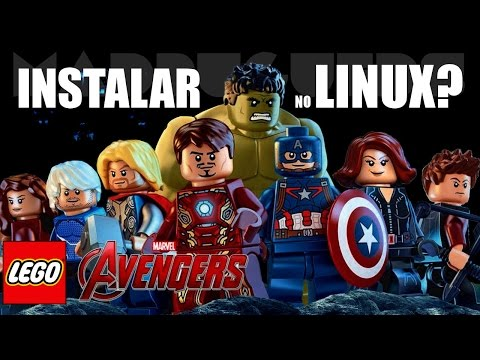 HOW TO INSTALL LEGO MARVEL AVENGERS ON LINUX??? (A PT-BR TUTORIAL)