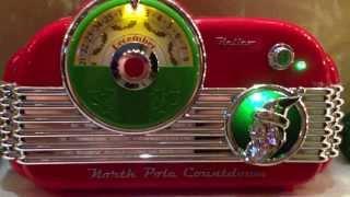 North Pole Christmas Countdown Radio/MP 3 Player