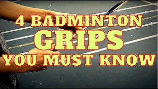 Download lagu How To Hold Your Badminton Racket For MAX POWER? Forehand & Backhand, 4 Grips!
