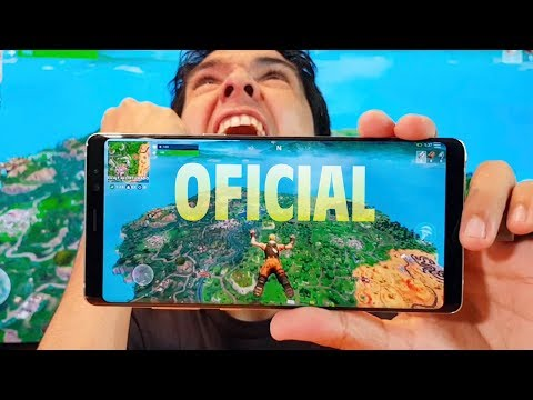 FORTNITE EN ANDROID!! Cómo Instalar, Teléfonos Compatibles Y Gameplay