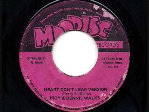 I Roy & Dennis Walks - Heart Don't Leap Version - JA Moodisc 1971