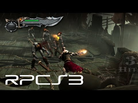 RPCS3 - God of War Collection with PPU Recompiler and Vulkan on i7-4790K [60FPS]