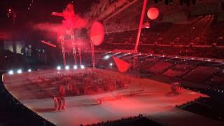 Церемония открытия олимпиады в Сочи 2014, индустриализация, время - вперед