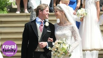 Royal family gathers for wedding of Lady Gabriella Windsor