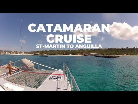 Incredible Catamaran Cruise from St-Maarten to Anguilla